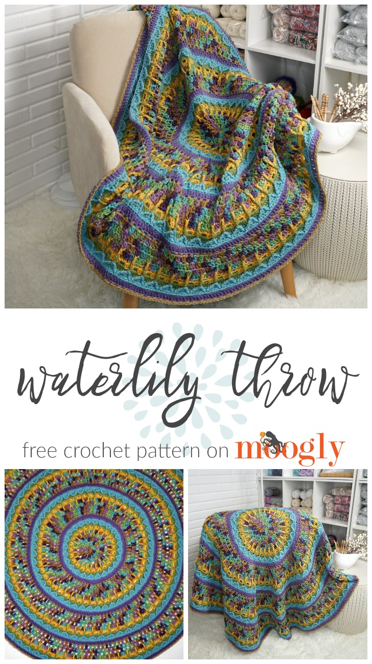 Waterlily Throw - PINSTA