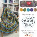 Waterlily Throw Tutorial