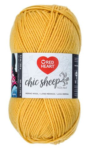 Red Heart Chic Sheep by Marly Bird - Mimosa