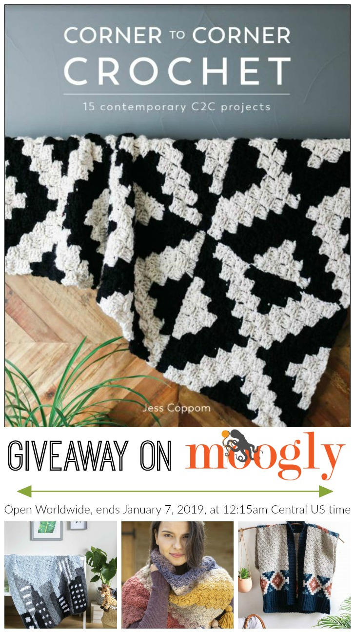 Corner to Corner Crochet Giveaway on Moogly - PINSTA