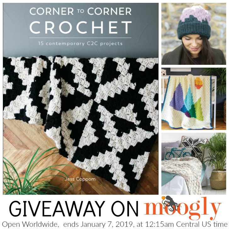 Corner to Corner Crochet Giveaway on Moogly - SM