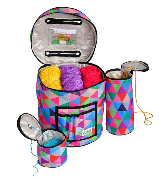 Athena's Elements Yarn Organization Project Bag