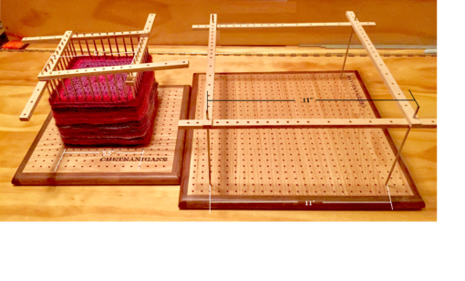 Chetnanigans Blocking Boards and Perfector Strips