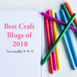 fave crafts Top Blogger 2018