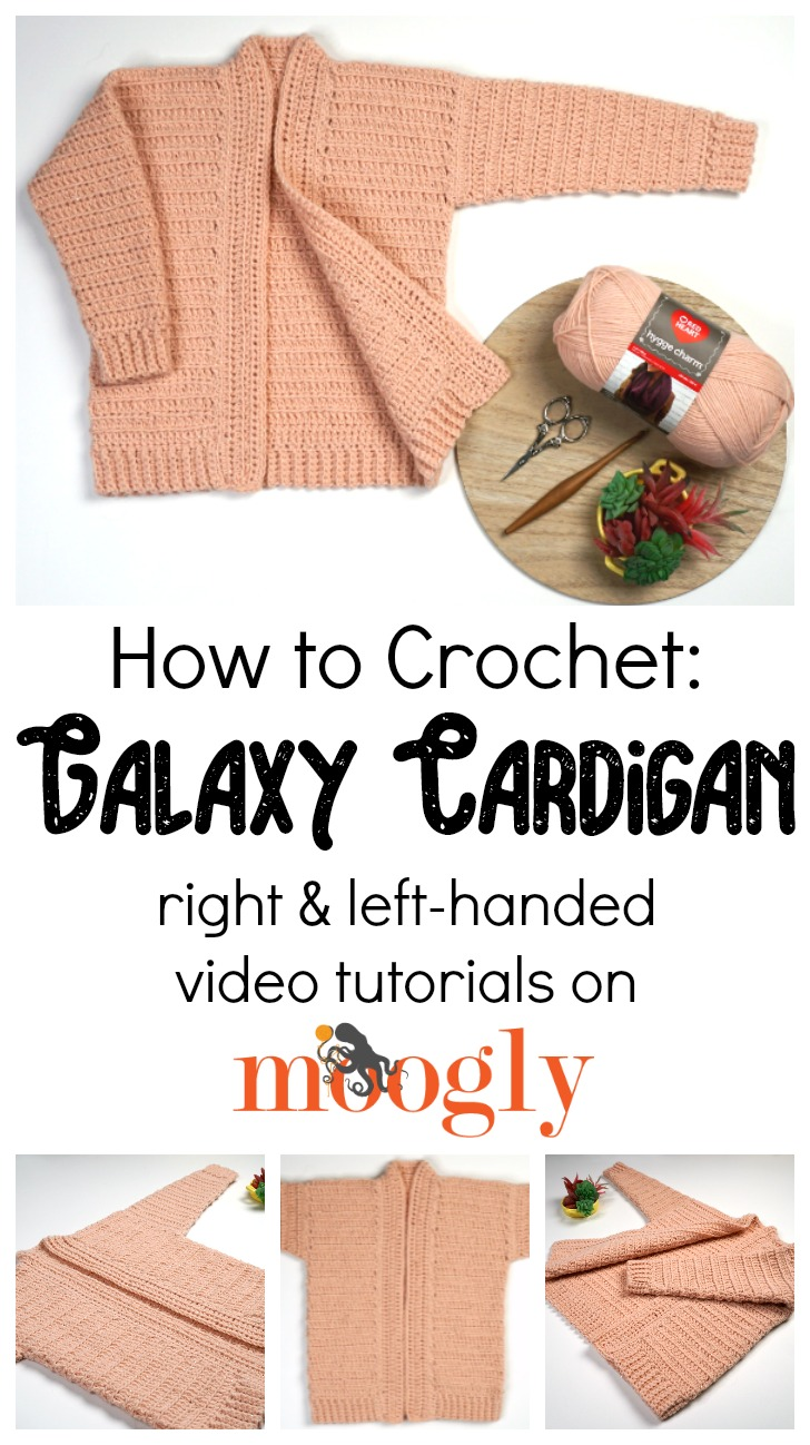 Galaxy Cardigan Tutorial on Moogly