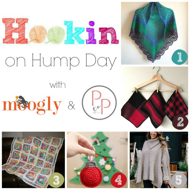 Hookin On Hump Day 183 - on Moogly and Petals to Picots