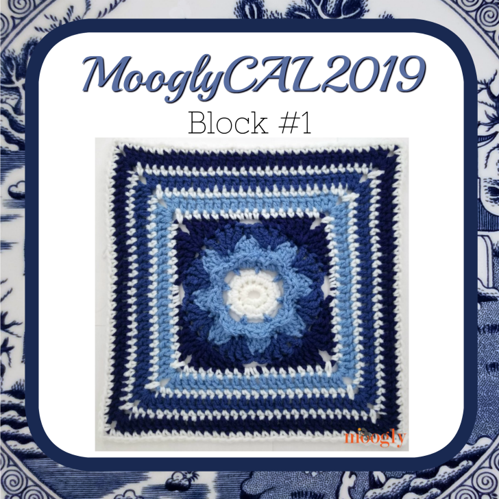 MooglyCAL2019 – Afghan Block #1 by Jessie at Home