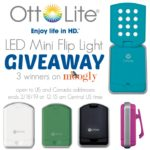 OttLite LED Mini Flip Light Giveaway