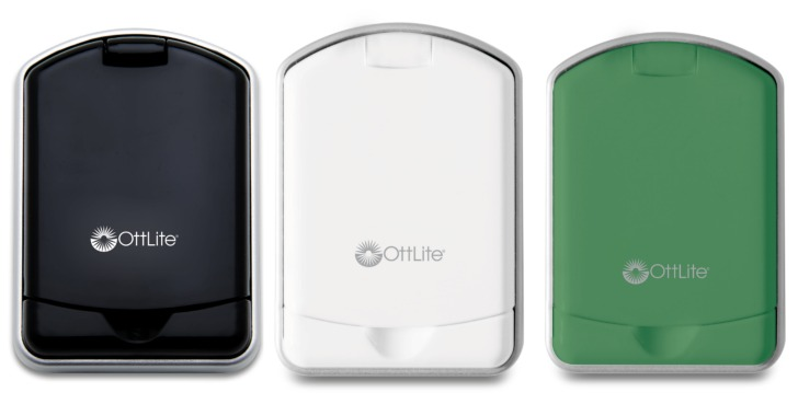 OttLite Mini Flips - Black, White, and Green