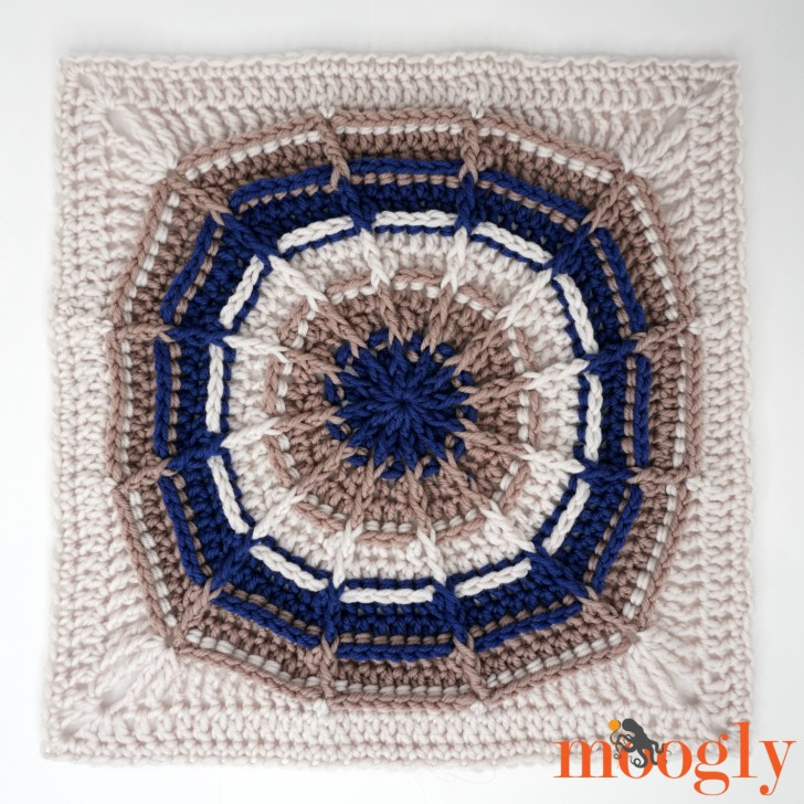 Right Round Square - free pattern on Moogly!