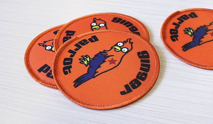 Sticker You - get custom printed canvas patches!