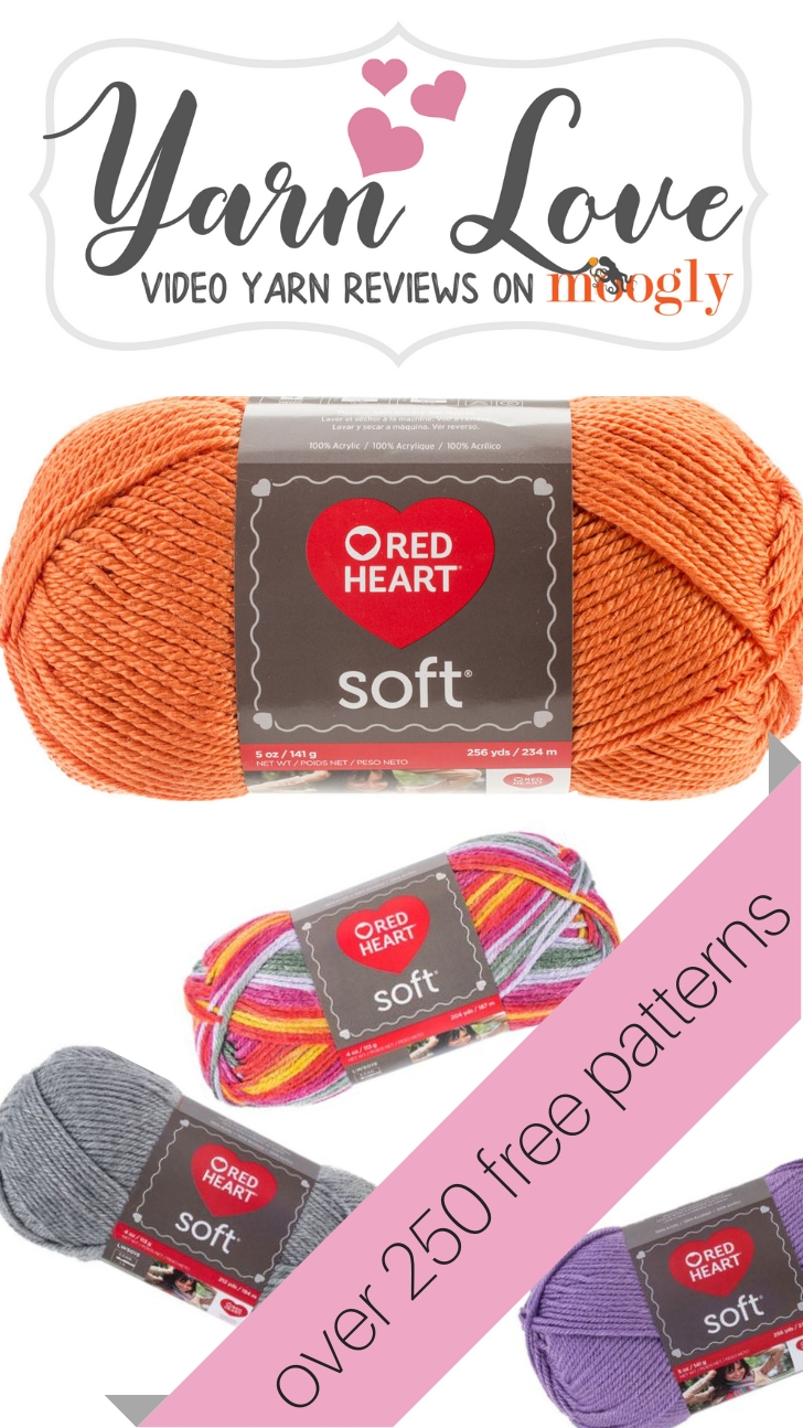 Yarn Love: Red Heart Soft on Moogly