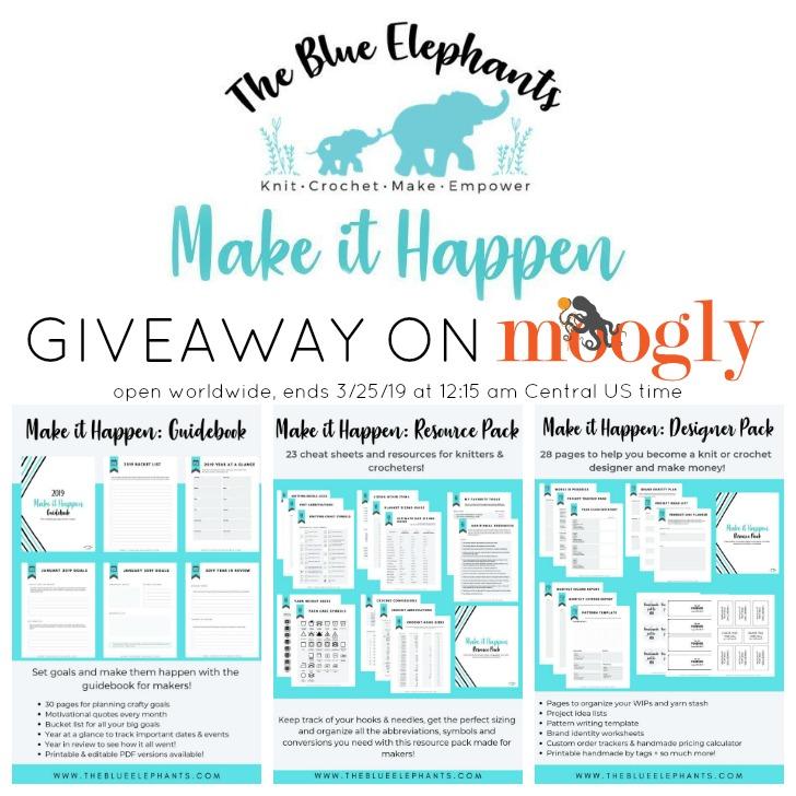 Make It Happen Giveaway on Moogly - SM