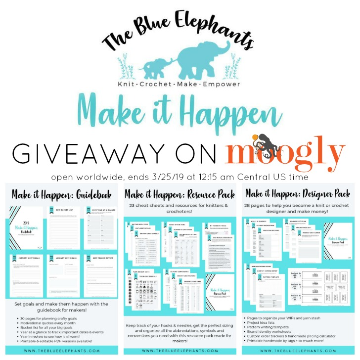 Make It Happen Giveaway on Moogly - SM