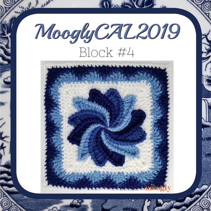 MooglyCAL2019 Block #4 by ReCrochetions!