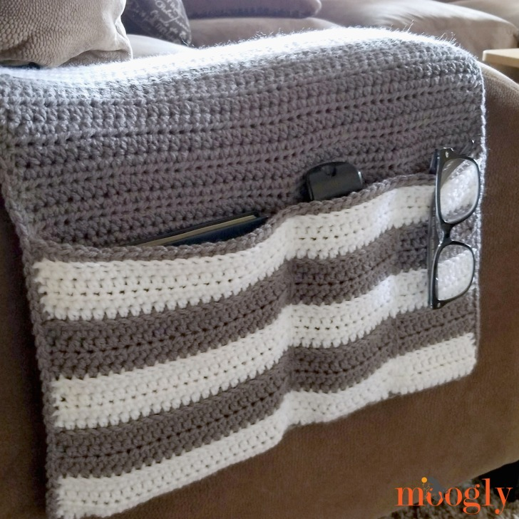 Cozy Couch and Bedside Organizer Caddy - on couch