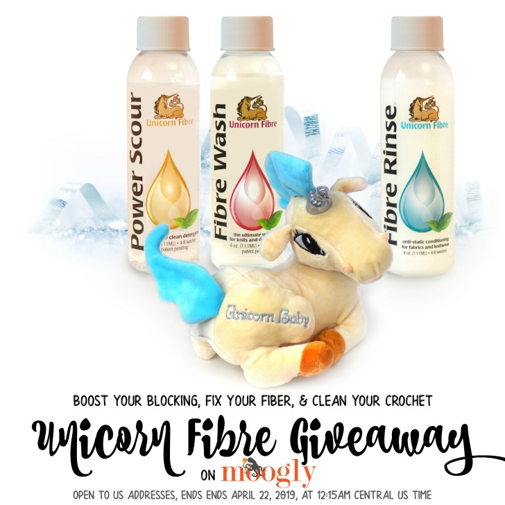 Unicorn Fibre Giveaway on Moogly!