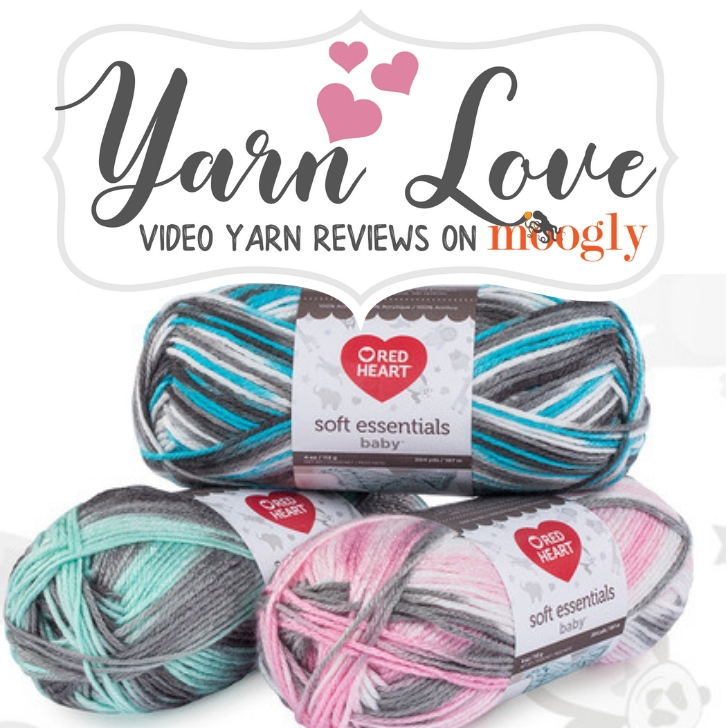 Yarn Love- Red Heart Soft Essentials Baby on Moogly
