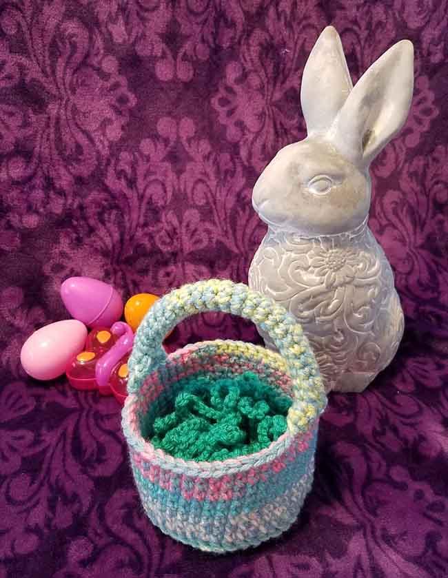 1 - Happy Spring Basket - Andee Graves M2H Designs