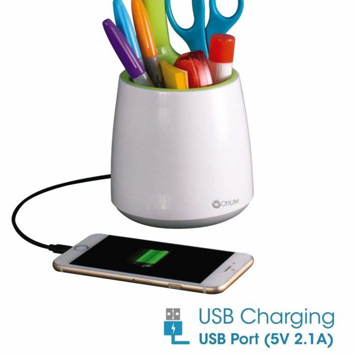 Organize LED Desk Lamp - USB port