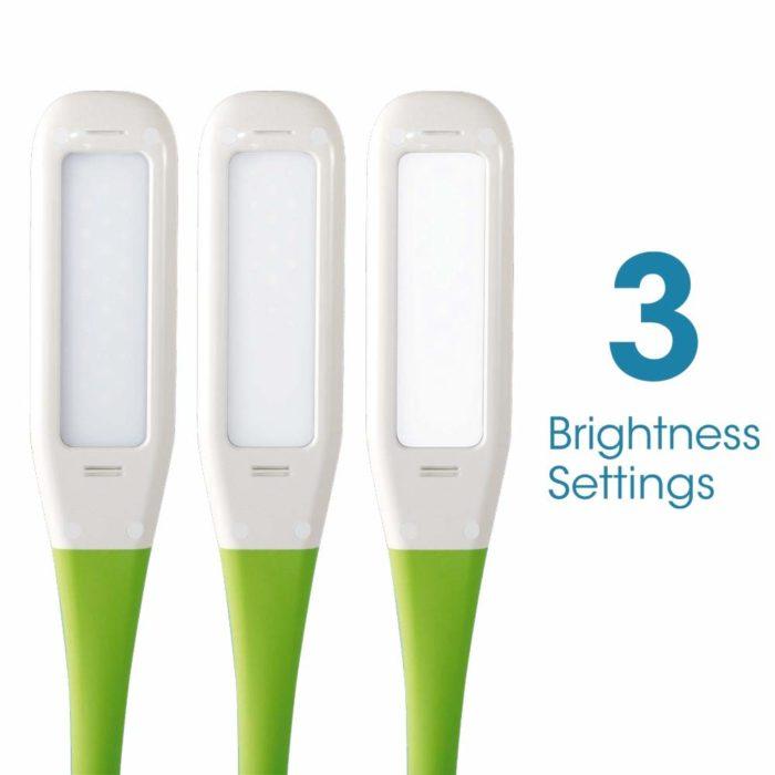 Organize LED Desk Lamp - brightness settings