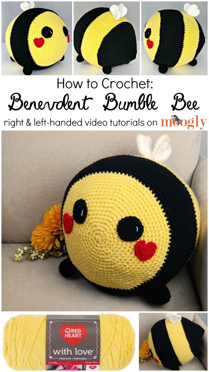 Benevolent Bumble Bee Tutorial on Moogly