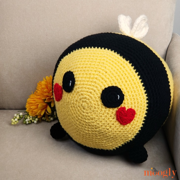 Benevolent Bumble Bee - on chair