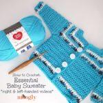 Essential Baby Sweater Tutorial