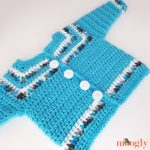 Essential Baby Sweater - flat view