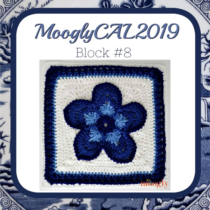 MooglyCAL2019 Block #8 by Julie Yeager