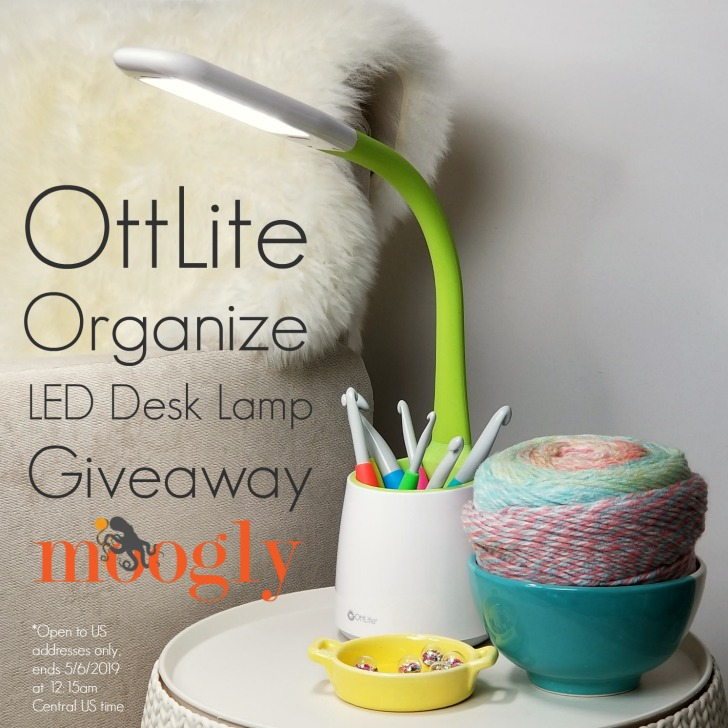 OttLite Organize LED Desk Lamp Giveaway on Moogly