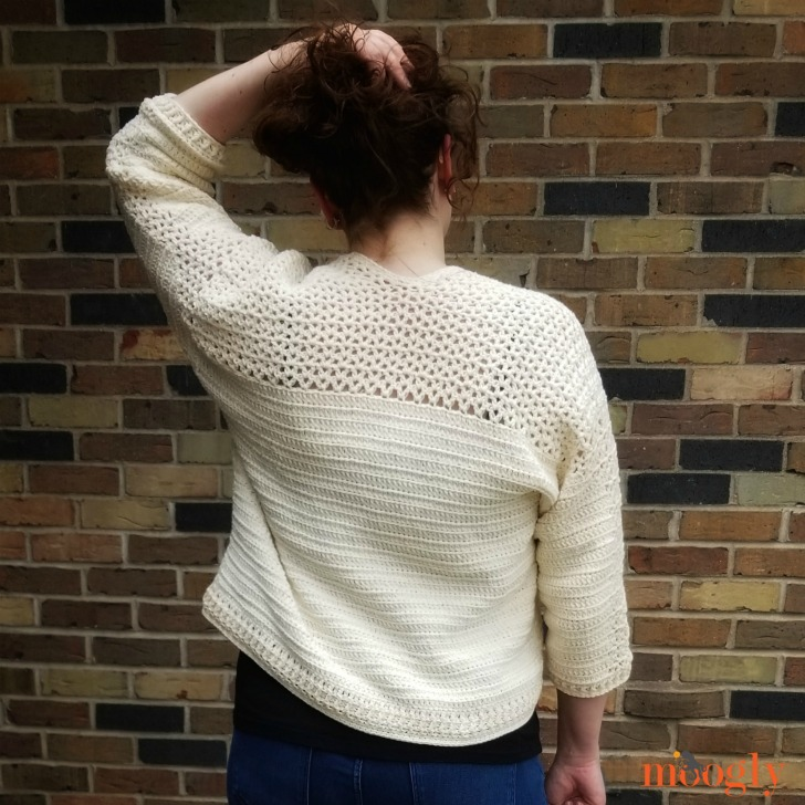 Paloma Cardigan - in sizes up to 5X on Moogly!