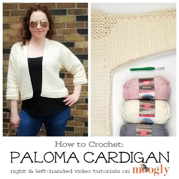 Paloma Cardigan Tutorial - on Mooglyblog.com