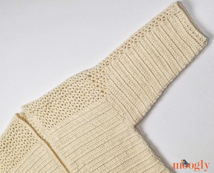 Paloma Cardigan - sleeve detail