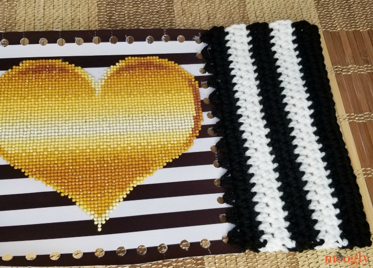 Tilted Heart Tote - section 1