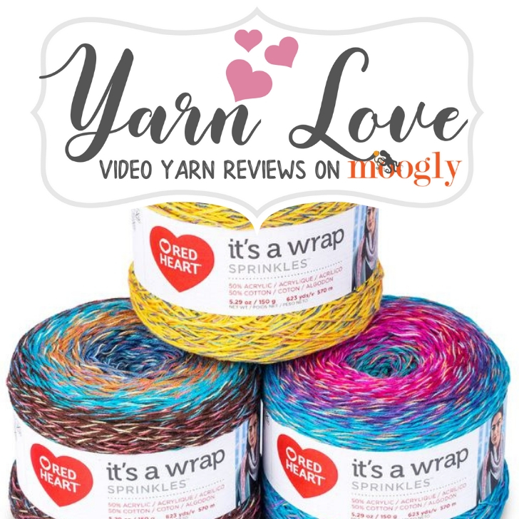 Yarn Love- Red Heart It's A Wrap Sprinkles