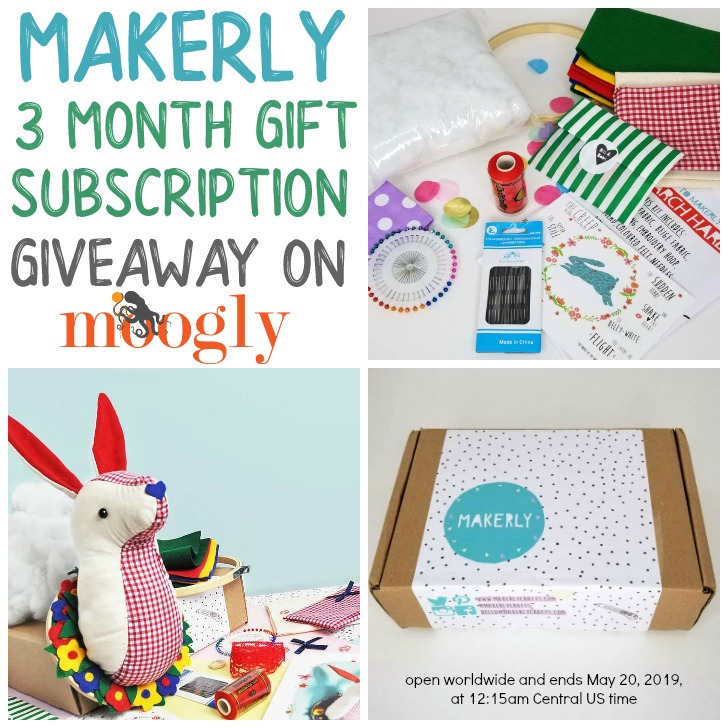 Makerly Giveaway on Moogly