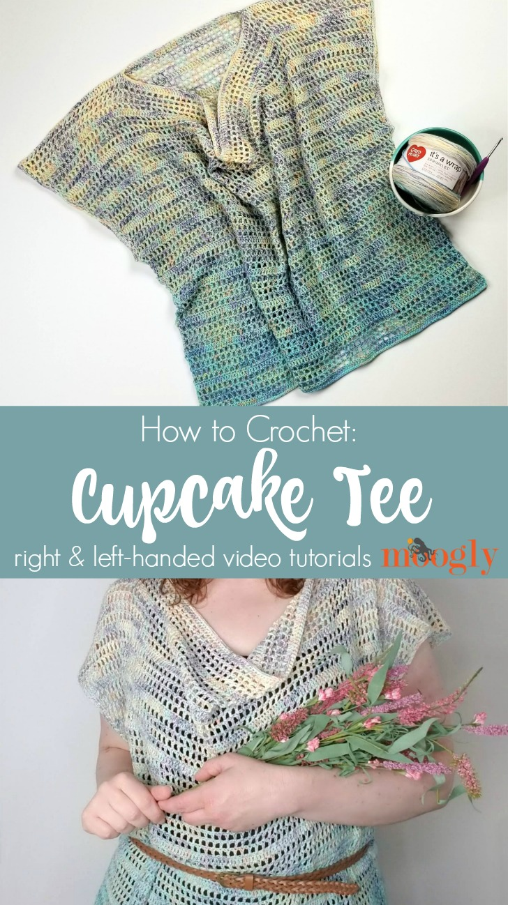 Cupcake Tee Tutorial on Mooglyblog.com