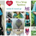 Red Heart It's A Wrap Rainbow: Guest Review & Round Up by Jessie At Home!
