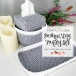 How to Crochet the Pampering Vanity Set