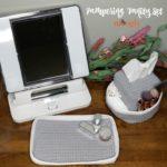 Pampering Vanity Set - free crochet patterns on Moogly!