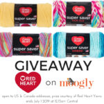 Red Heart Super Saver Giveaway