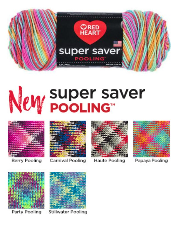 Red Heart Super Saver Pooling