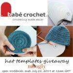Babé Crochet Hat Templates Giveaway