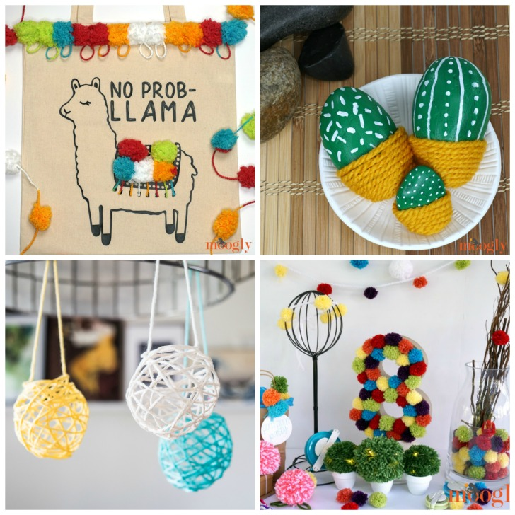 Moogly Yarn Crafts for Kids and Adults