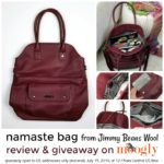 Namaste Bag Review and Giveaway
