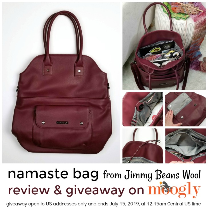 Namaste Bag Giveaway on Moogly