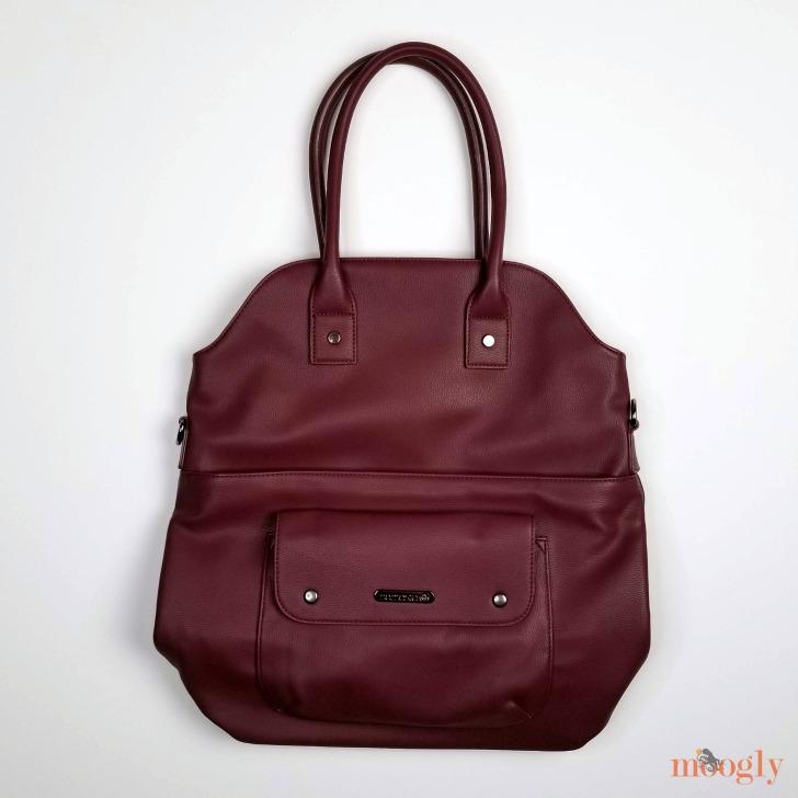 Namaste Maker's Foldover Bag fresh out of the bag