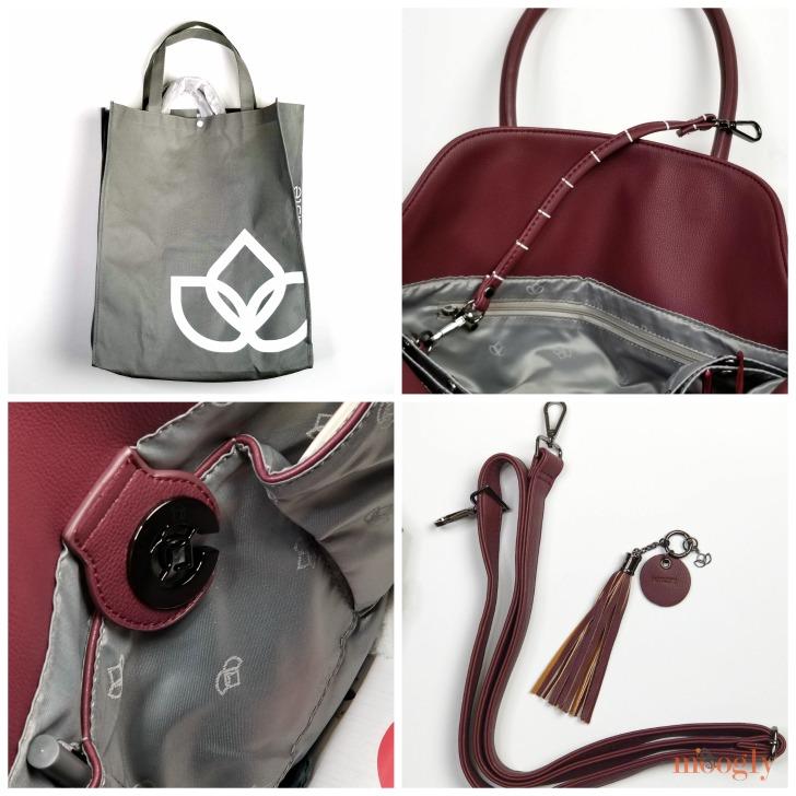 Namaste Maker's Foldover Bag - great details