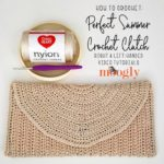Perfect Summer Crochet Clutch Tutorial on Moogly